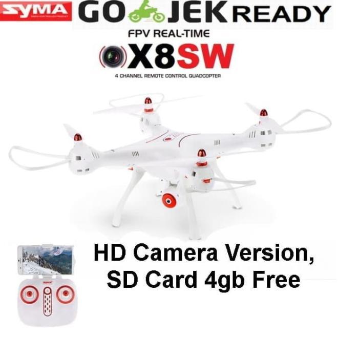 PROMO Drone Syma X8SW FPV WIFI Upgrade dari X8HW