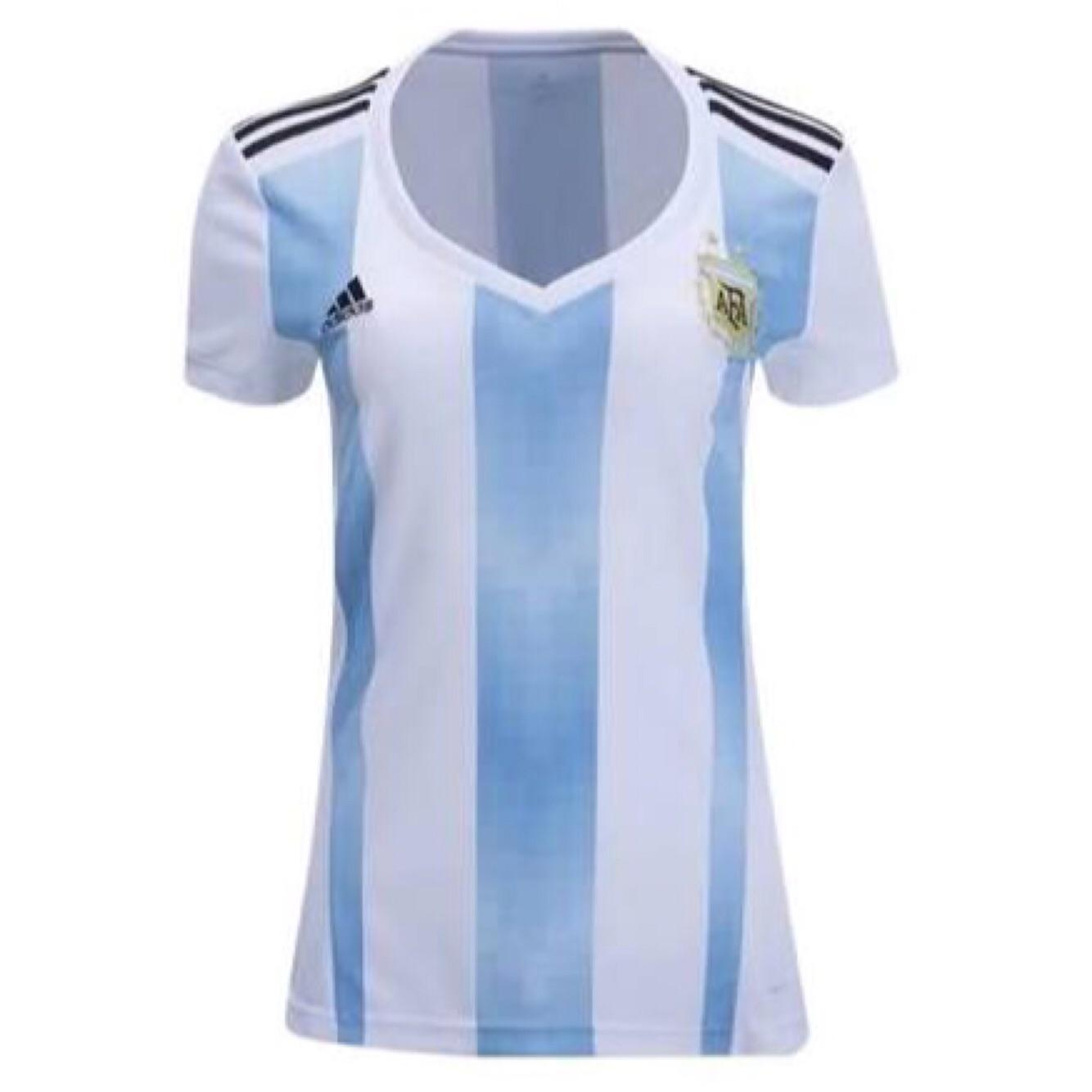 JERSEY LADIES ARGENTINA HOME WORLD CUP 2018 - JERSEY BOLA LADIES TIMNAS ARGENTINA PIALA DUNIA 2018