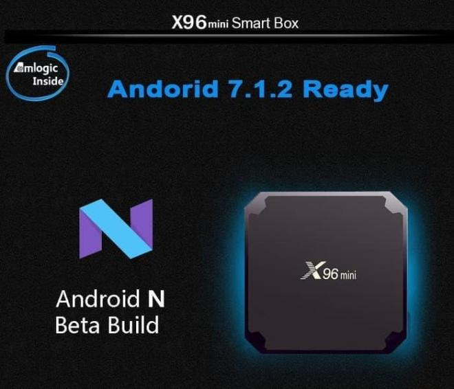 X96 Mini TV Box 2GB RAM  16GB ROM with Android 712 Grosir Price