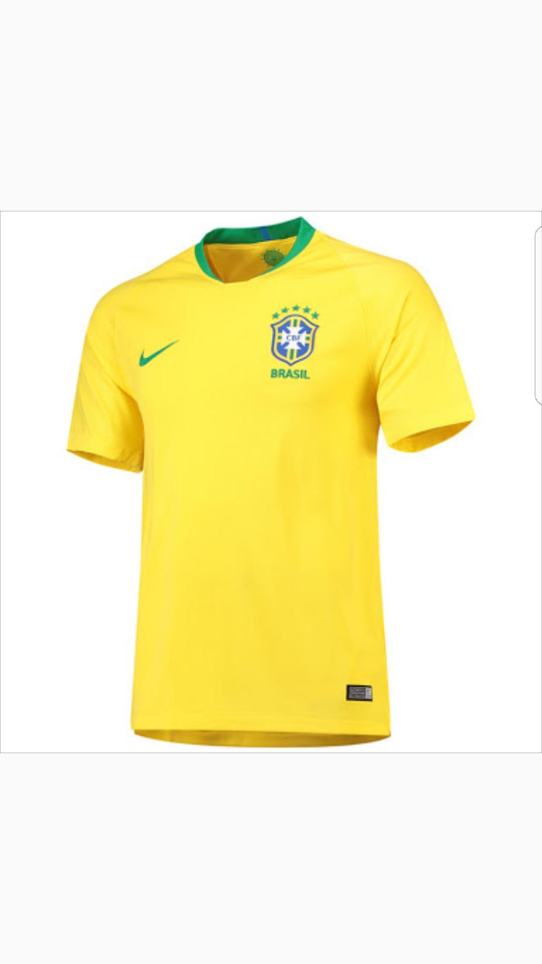 DMXS - Jersey Bola Timnas Brazil Home / Away Piala Dunia 2018
