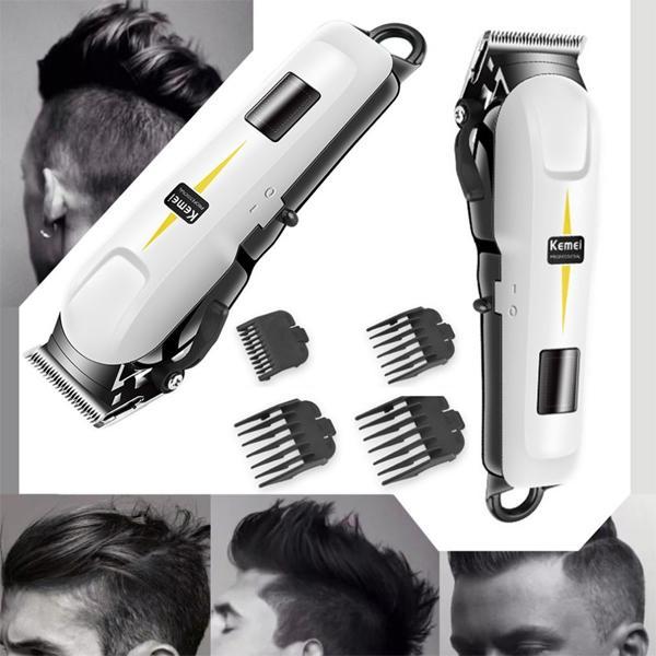 TERMURAH SE LAZADA ORIGINAL Professional Cordless Hair Clipper KEMEI KM-809B - Mesin Cukur Rambut Rechargeable
