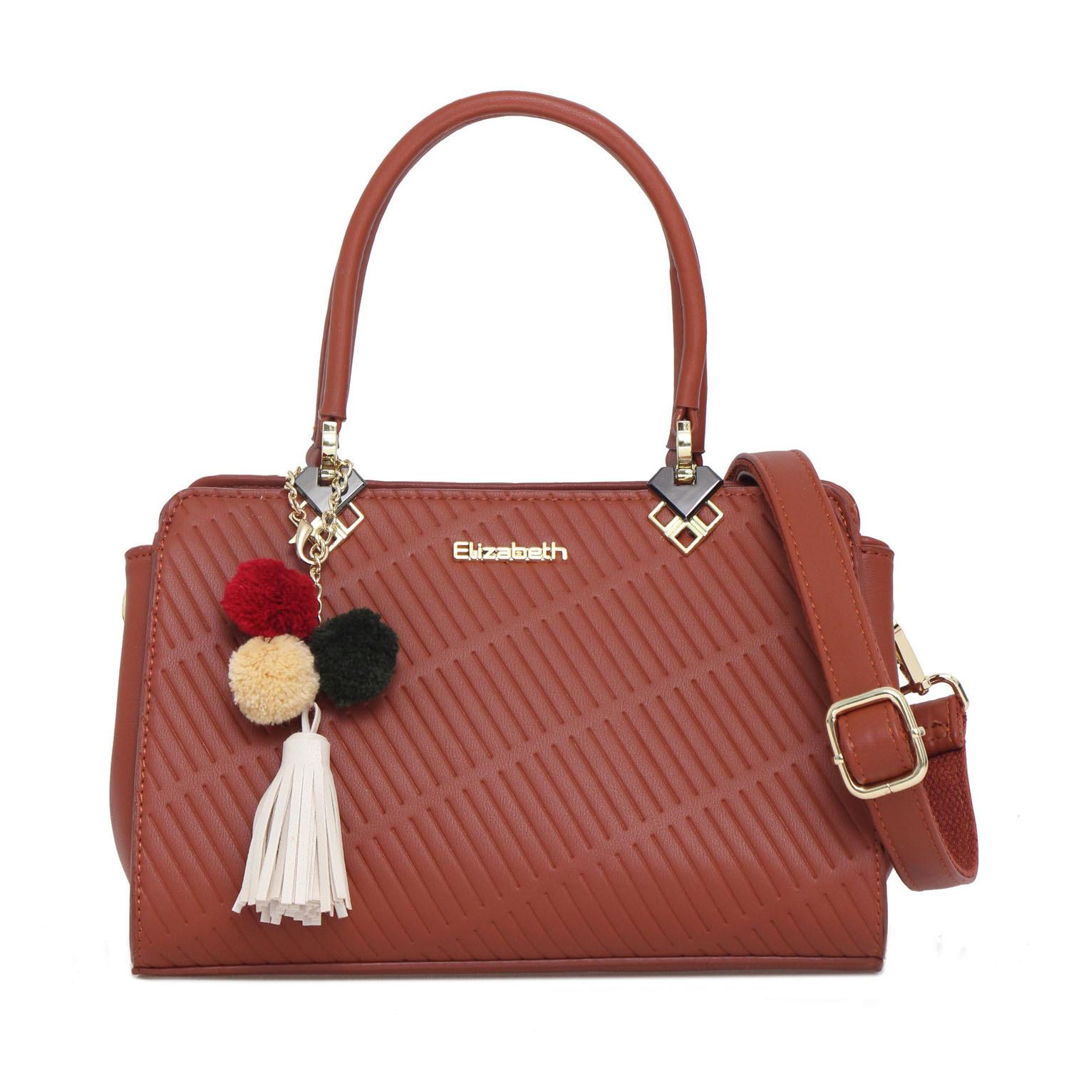 Elizabeth Bag Lucille Hand Bag Brickred