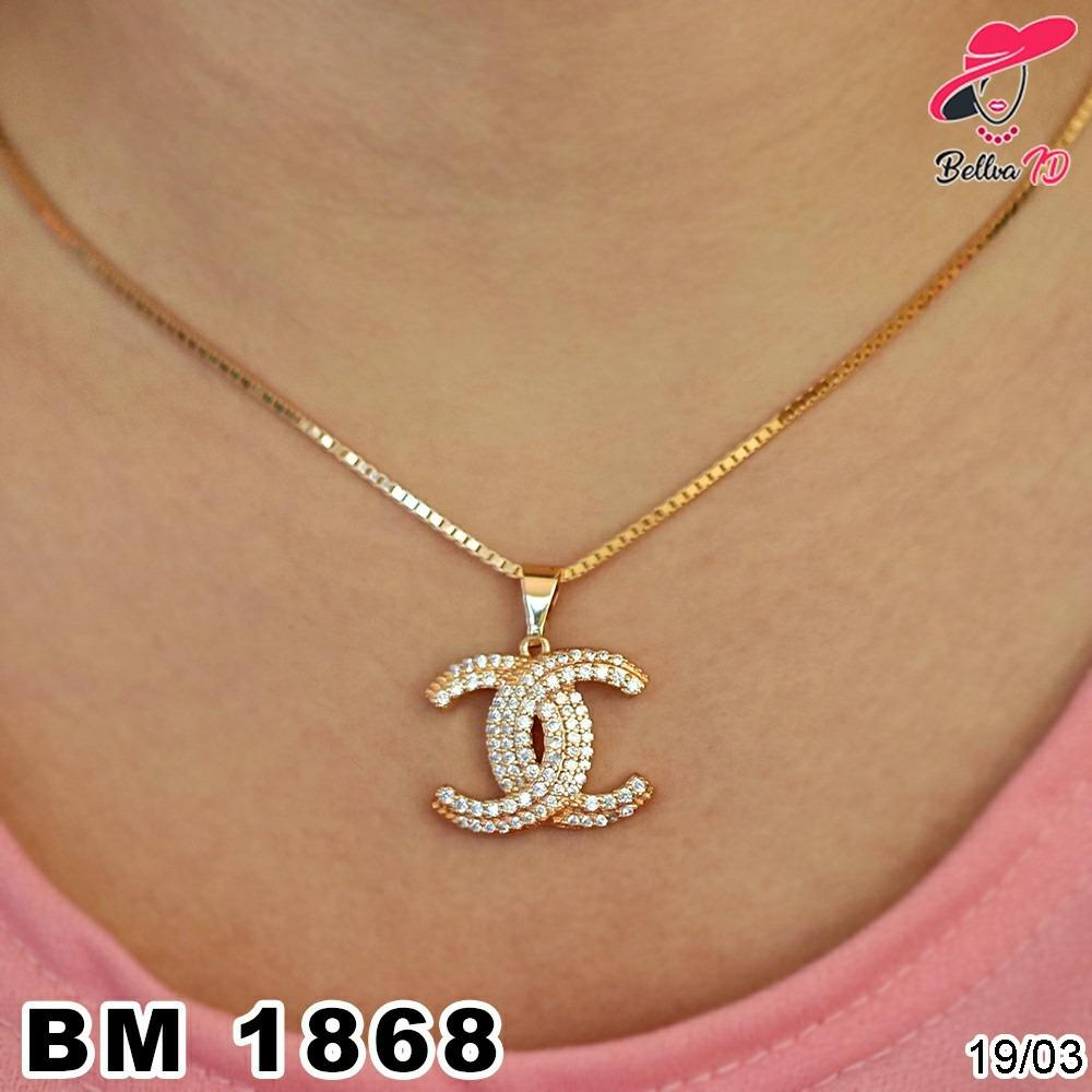 Kalung Xuping Chanel Gold M 1868