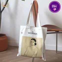 (COD BAYAR DITEMPAT) Tote Bag Woman – Tote Bag Ngampus – Tas Selempang Sekolah Trendy