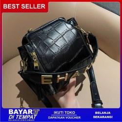 (BISA COD) Xavia rample bag [Febee] - Tas selempang wanita / vintage bag / totebag wanita / tas kerut vintage bag / tas bahu vintage bag GN3001