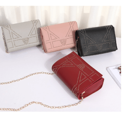 442 Tas Selempang Wanita Kotak Mini Simple NEW FASHION KOREA STYLE