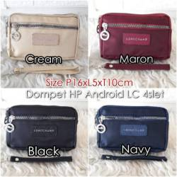 Dompet Koin LC 4slet/Dompet Hp Android 6 inch