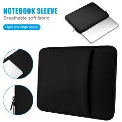 11 12 13 14 15.6 Inch Tas Laptop Portable dengan Resleting untuk MacBook Air Pro Ultrabook