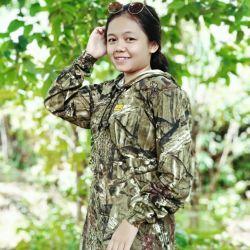 Baju Camo Hunting Kamuflase Berburu Woods Junggle HoodieLengan Panjang