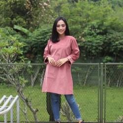 Baju Atasan Wanita Azel Tunik / Baju Muslim / Pakaian Wanita / Atasan / Tunik / outer