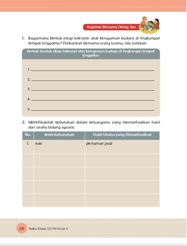 Kunci jawaban buku tematik tema 8 kelas 3 halaman 33, 34, 35, 36, 38,. Kunci Jawaban Buku Tema 8 Kelas 5 Halaman 31 Berbagai Buku