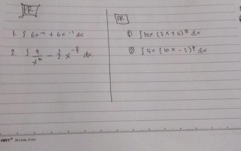 Berikut terlampir contoh soal beserta penjelasannya. Tolong Bantu Jawab Soal Kalkulus 2 Soal Integral Dong Kaka2 Brainly Co Id