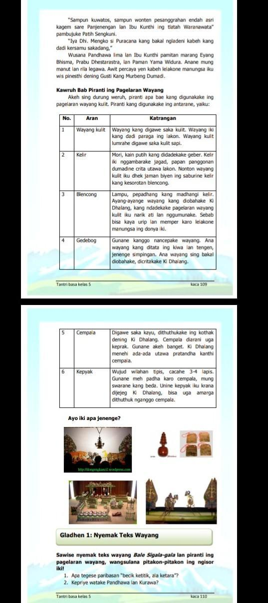 Kunci jawaban bahasa jawa kelas 5 semester 1 kurikulum 2013 jim owen hujan. Minta Tolong Yang Punya Buku Tantri Bahasa Jawa Kelas 5 Halaman 109 Minta Tolong Di Brainly Co Id
