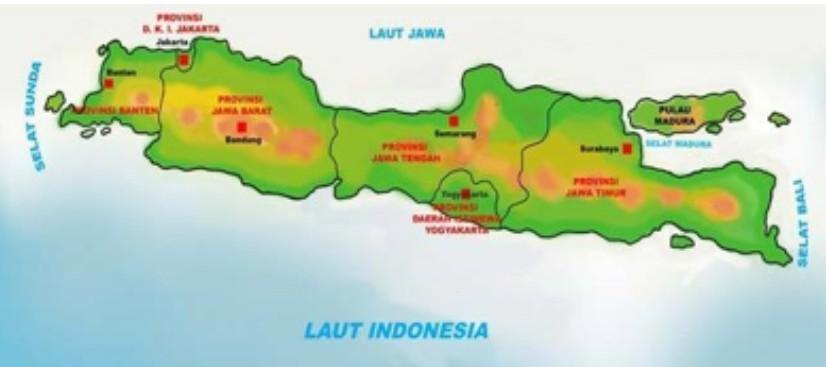 In 20.27.gambar peta indonesia lengkap terbaru beserta keterangannya. Perhatikan Peta Di Bawah Ini Batas Wilayah Bagian Utara Pada Pulau Di Atas Adalah A Samudra Brainly Co Id