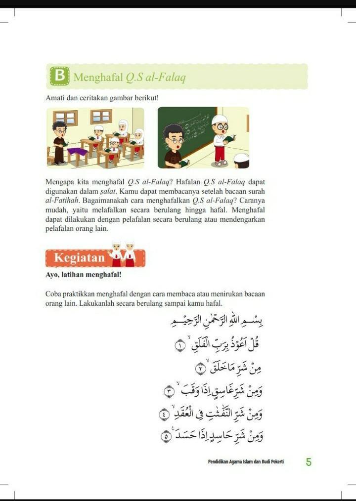Buku pendidikan agama islam dan budi pekerti untuk sd kelas 4. Kunci Jawaban Pendidikan Agama Islam Dan Budi Pekerti Kelas 4 Ceritakan Gambar Halaman 5 Brainly Co Id