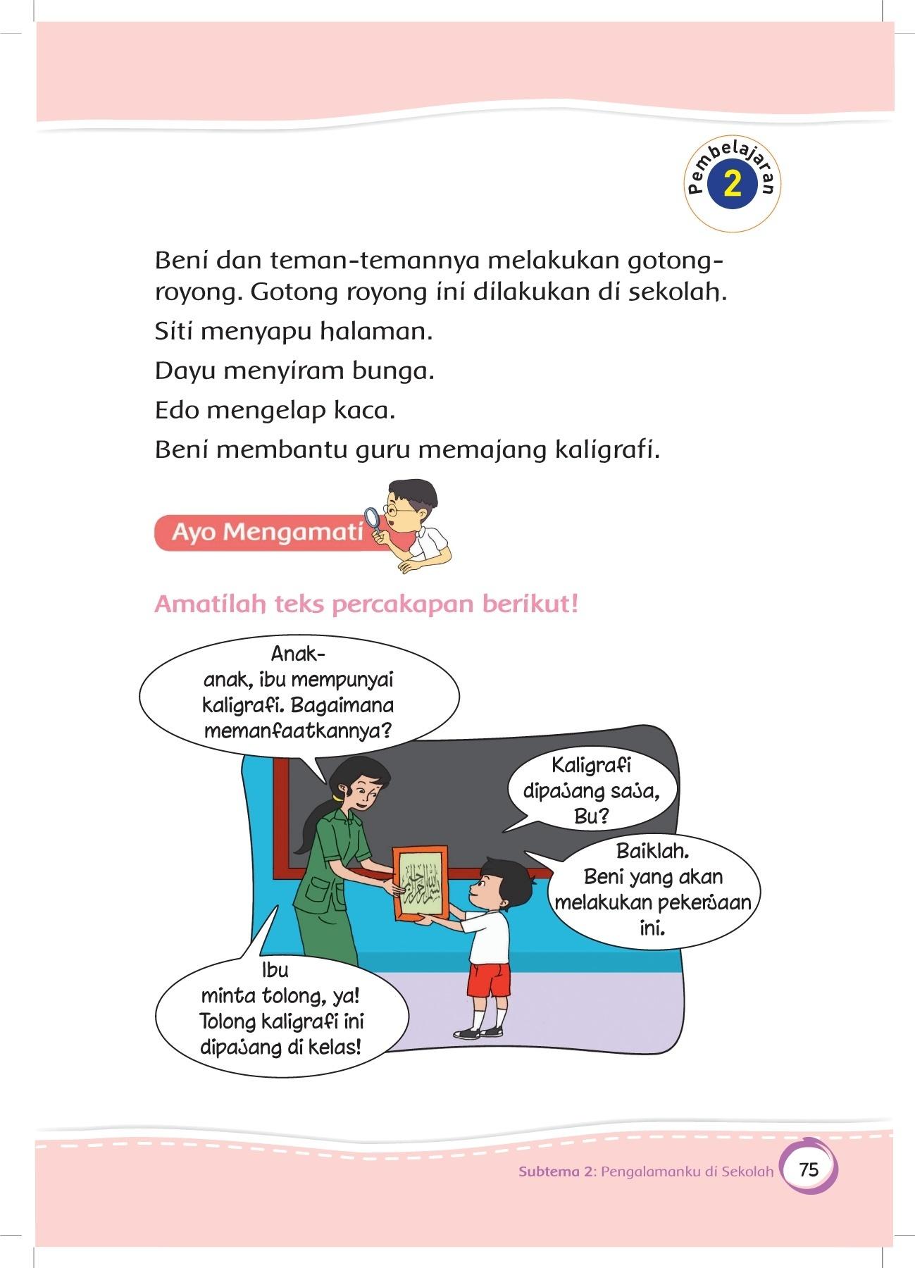 Buku muatan lokal dinas pendidikan provinsi yogyakarta. Jelaskan makna ungkapan minta tolong dari teks di atas
