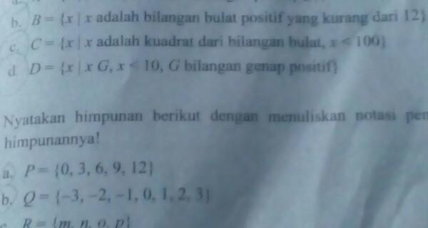 Himpunan semua bilangan bulat dalam matematika dilambangkan dengan z (atau z. B X X Adalah Bilangan Bulat Positif Yang Kurang Dari 12 Brainly Co Id