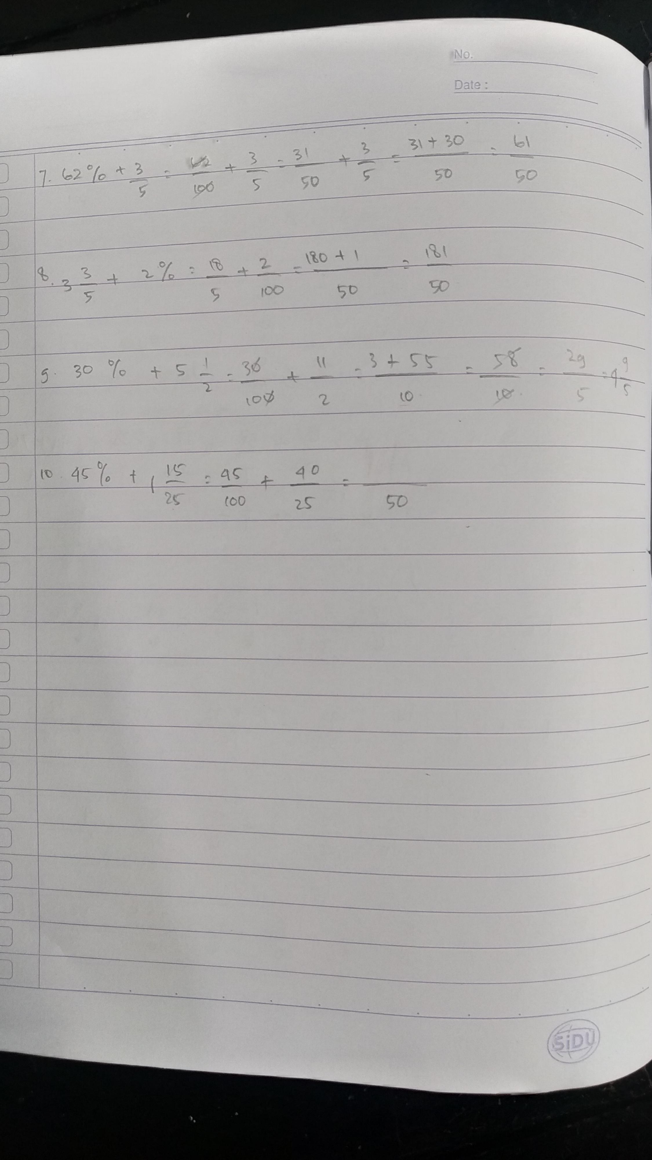 Soal matematika kelas 5 evaluasi diri 2. Kunci Jawaban Matematika Kelas 5 Halaman 10 Evaluasi Diri 2 Sanjau Soal Latihan
