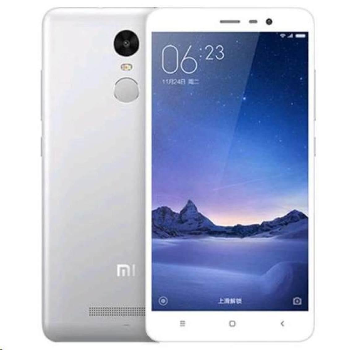 Hasil gambar untuk Xiaomi Redmi Note 3 Pro 4G Lte - RAM 3/32 GB - Silver