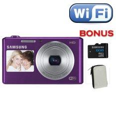 Samsung DV-150f - Wifi dan Dual LCD - Ungu + Memori 8 GB