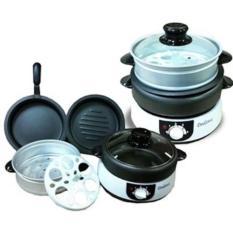 Kompor Listrik Dan Wajan / Panci Dodawa Multi Functional Cooker 8 In 1