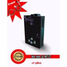Niko Water Heater Gas Digital LED Display - Hitam