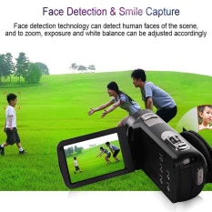 3.0 ''8MP 1080 P Kamera Zoom Digital DV RC Anti Shake Hitam Multilanguage-Internasional