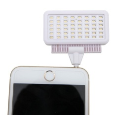 30 Selens Selfie Flash LED Video Light MDV-4806 untuk IPhone Samsung Xiaomi Lenovo Huawei Dll Smartphone dan Tablet Kamera (Pink) -Intl