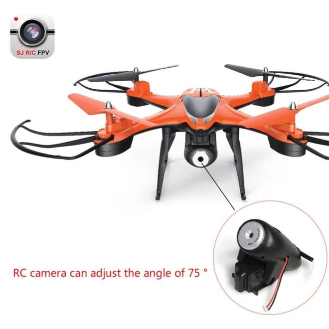 Bellamall: TT911 6-Axis HD WIFI Real-time UAV Kamera dengan Kacamata VR 2.4 GHz RC Drone Orange- INTL