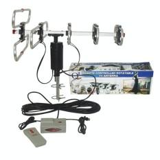 EELIC ATV-Q1080 REMOTE CONTROLLED ROTATABLE TV ANTENA TELEVISI DIGITAL OUTDOOR DENGAN REMOTE + BOOSTER ROTARY BERPUTAR 360 DERAJAT
