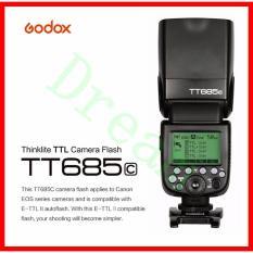 Godox TT685 TT685C 2.4G HSS 1/8000s E-TTL GN60 TTL Wireless Flash Speedlite compatible with Canon camera EOS 400D Digital 450D 500D 550D 600D 650D 1000D 1100D 30D 40D 50D 60D 5D Mark II 5D Mark III 6D 7D