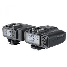 GODOX X1C E-TTL II 2.4G Pemicu Flash Nirkabel High Speed Sync untuk Canon EOS 6D 7D 60D 650D 5 DIII TT685 WITSTRO AD360II-C Lampu Kilat (Transmitter + Receiver) + CEARI MicroFiber Clean Cloth-Intl
