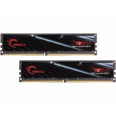 GSkill Memory PC DDR4 Fortis 32GB (16GBx2) PC19200 2400Mhz - Model F4-2400C16D-32GFT - Hitam