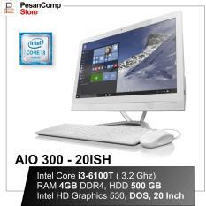 Lenovo AIO 300-20ISH Intel  i3 - 6100T 20