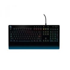 Logitech G213 Gaming Keyboard dengan Kontrol Media Khusus, 16.8 Juta Warna Pencahayaan Tombol Backlit, Tumpahan Cairan dan Tahan Lama Desain-Intl