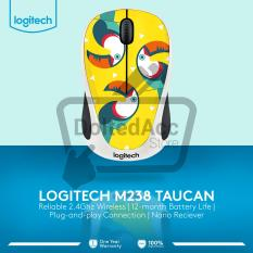 Logitech Wireless Mouse Party Collection M238 - Toucan