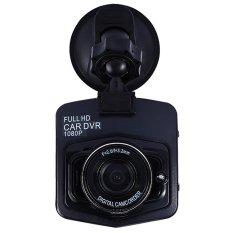 Mini Car DVR Camera Full HD 1080P DCR Detector Recorder CamcorderParking Recorder Dash Cam Video G-sensor Night Vision (Black) - intl
