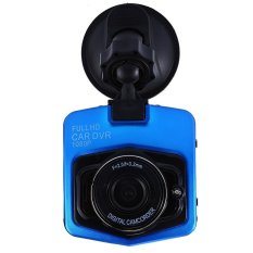 Mini Car DVR Camera Full HD 1080 P Detektor DCR Detektor CamcorderParking Perekam Dash Cam Video G-sensor Night Vision (Biru) -Intl