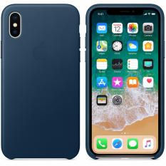 Original Leather Case for iPhone X / Ten - Cosmo Blue