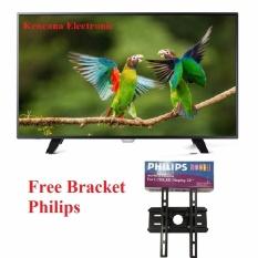 """Philips 32PHT4002S DIGITAL TV DVB-T2 LED TV 32"""" Slim - NEW - FREE BRACKET PHILIPS - Khusus JABODETABEK"""