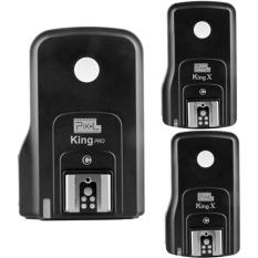 PIXEL Wireless TTL Flash Trigger King Pro FSK 2.4GHz Wireless Remote Control System + PIXEL Wireless Flash Trigger King X For Canon 5D,6D,7D,50D,60D,70D,700D,1100D,1000D,650D,600D,550D,500D,350D,300D,100D. - intl