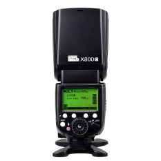 Pixel X800C GN60 E-TTL 2.4 GHz Radio Wireless HSS Flash Speedlite untuk Canon