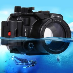 PULUZ 40m Underwater Depth Diving Case Waterproof Camera Housing for Canon G7 X Mark II(Black) - intl