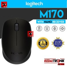 RESMI!! Logitech M170 Wireless Mouse M 170 NANO RECEIVER ADAPTER MINI