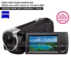 SONY HDR-CX405 HANDYCAM with ZEISS Lens, Exmor R, Full HD 9.2MP