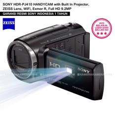 SONY HDR-PJ410 HANDYCAM with Built In Projector, ZEISS Lens, WiFi, Exmor R, Full HD 9.2MP