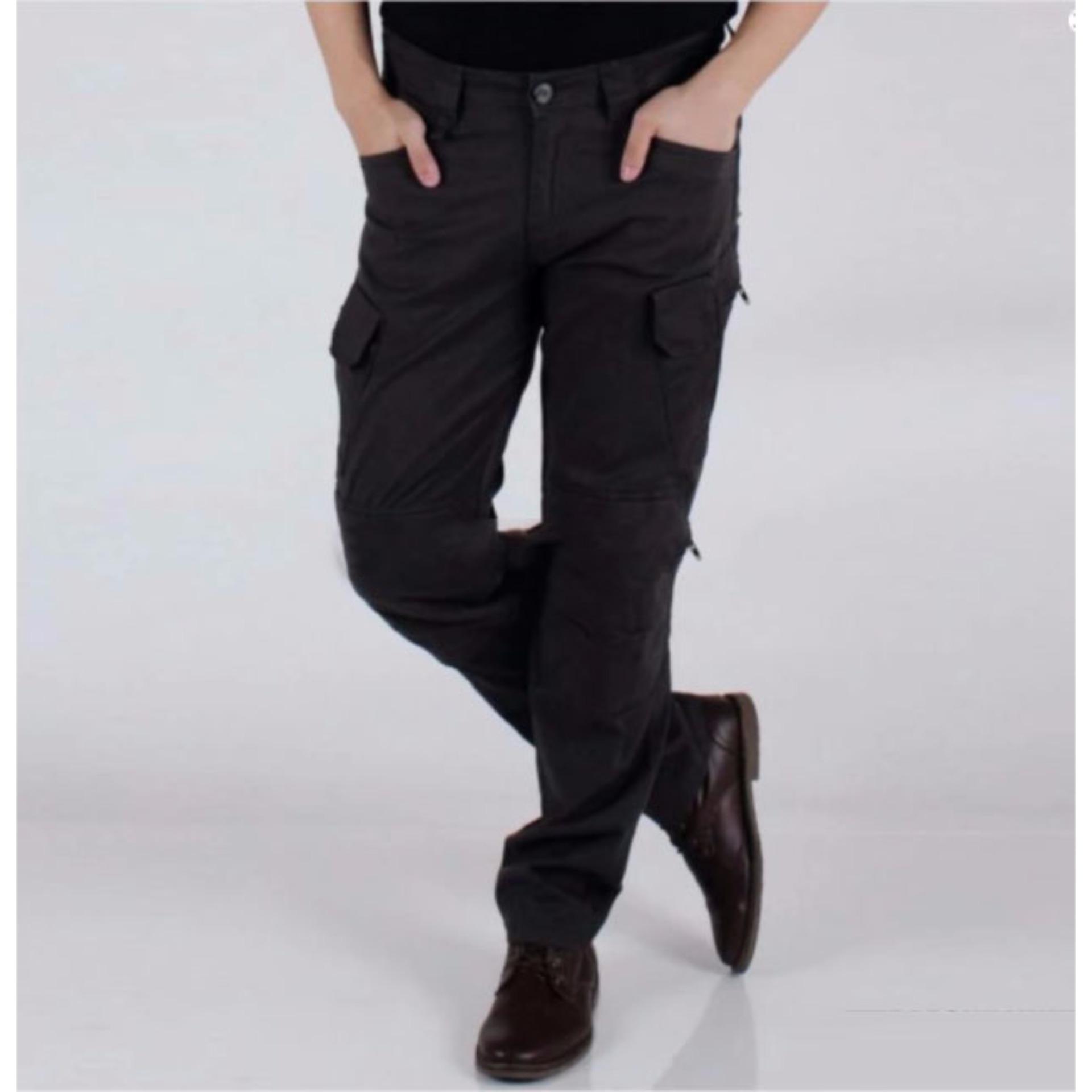 Swiss hunter - Blackhawk tactical cargo celana panjang - Black