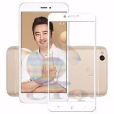 Tempered Glass Full Screen White For Xiaomi Redmi 4X 9H Screen Anti Gores Kaca / Screen Guard / Screen Protection / Temper Glass / Pelindung Layar Kaca Xiaomi Redmi 4X / Depan Only - White / Putih