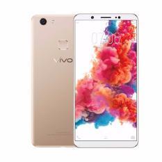 Vivo V7 Plus Smartphone - Gold [64GB/4GB] + Speaker Bluetooth