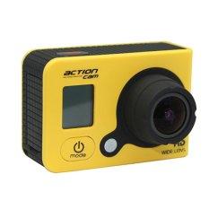 Tahan Air WIFI Olahraga Action Camera 12 Mega Pixel untuk Kegiatan Outdoor dan Air Spor TS (Kuning/Hitam)-Intl